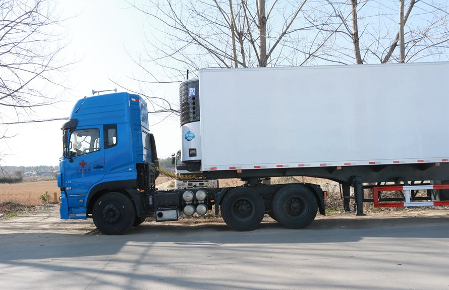 refrigerated semi trailer 4