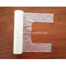 Plastic T Shirt Bag Rolls