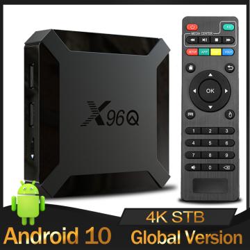 Original X96Q TV Box Android 10.0 Allwinner H313 Quad Core 2GB 16GB Smart Media Player 2.4G Wifi 4K Set top box PK X96mini