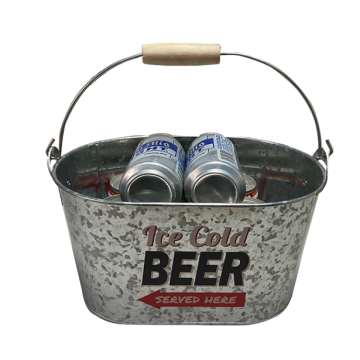 Ice Bucket galvanized metal