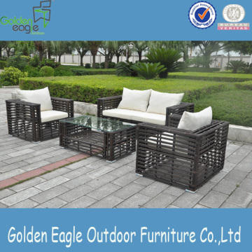Rattan outdoor garden furniture modern sofa set
