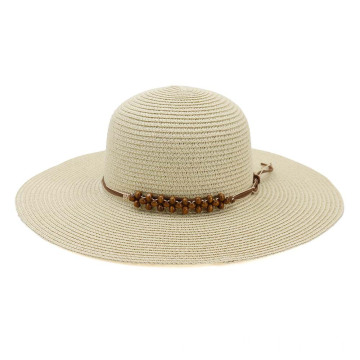 Straw-weaved hand-plaited hat straw articles summer