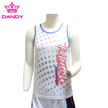 Sublimation printing mens vests
