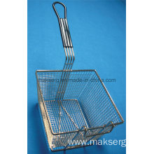 Commercial Fry basket Rubber Handle 9 Inches