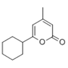 2H-Pyran-2-one, 6-cyclohexyl-4-méthyl- CAS 14818-35-0