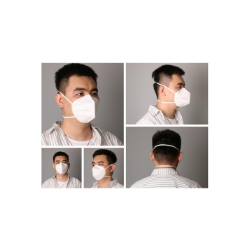 Head-mounted meltblown cloth antibacterial mask