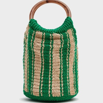 New Fashion Green Crochet Bag