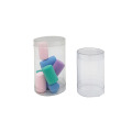 Waterproof tube PVC PET round clear plastic cylinder