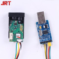 miniature laser distance transducer usb 1mm Raspberry Pi