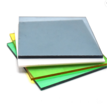 High gloss wear resistant plastic polycarbonate sheet