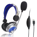 Computer Stereo Call Center USB Kopfhörer Gaming Headset