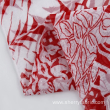 Newest design printed chiffon fabric