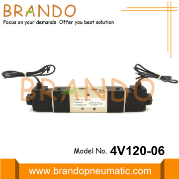 4V120-06 5 Port 4 Way Pneumatic Solenoid Valve