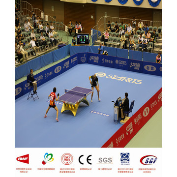 Table Tennis PVC Floor table tennis with ITTF