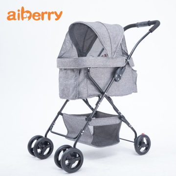 Aiberry Pet Dog Walk Strollers Travel Carrier Carriage