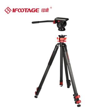 IFOOTAGE TA5&TC5&TA6&TC6 Gazelle series Professional Aluminum alloy&carbon fiber Video Tripod Compatible with Canon, Nikon,DSLR