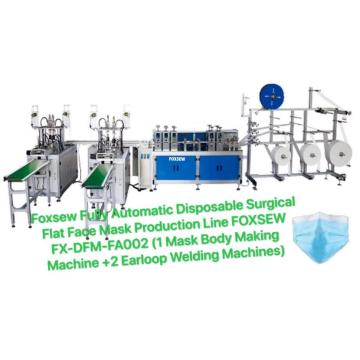 Fully Automatic Disposable Mask Production Line (1+2)