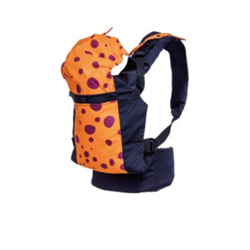 Fashion Dot Printed Baby Carrier With Cap