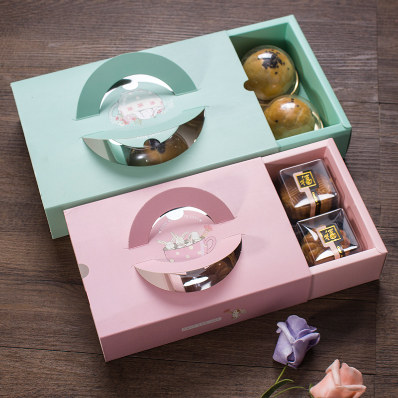 Drawer shape cookie box packaging ideas