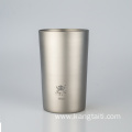Pure Titanium Beer Mug Without Lid