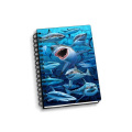 SHARKS 3D NOTEBOOK -0