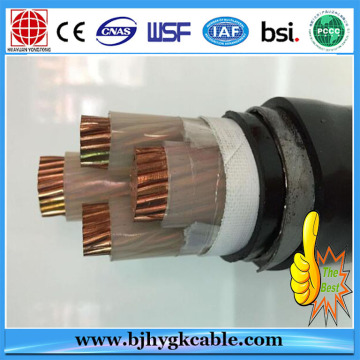 20KV Copper Conductor XLPE Insulation PVC Outer Sheath wires
