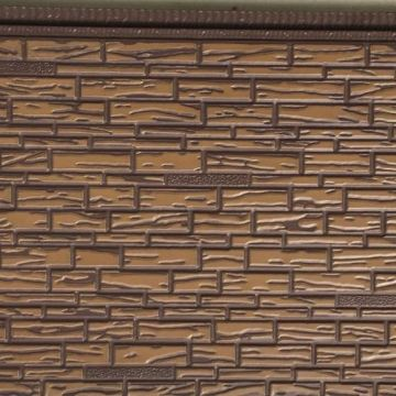Metallic Embossing Composite Insulation wall anel