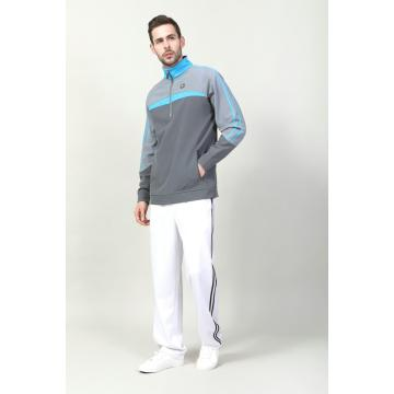 MEN'S HALF ZIP TRICOT PULL OVER