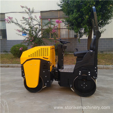 1 Ton Hydraulic Two Drums Vibrating Roller