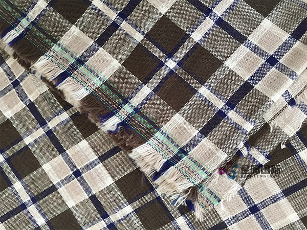 Plaid Prints Bamboo Cotton Fabric