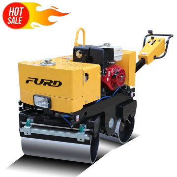 Double drum vibratory roller asphalt paving vibratory roller compaction rollers for sale FYL-800