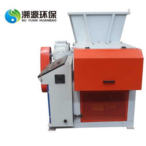 Single Shaft Shredder Waste Recycling Machine