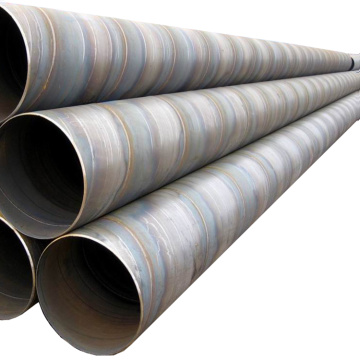 Api 5l x52 welded carbon spiral pipe