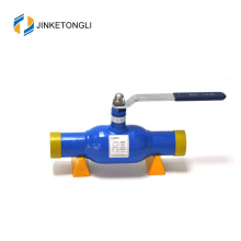 gas oil water medium flange standard acid resistant welded ball valve