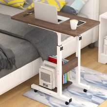 Bed Computer Desk Lifting Standing Desk Computer Desk Removable Height Adjustable With Wheels Laptop For Home Bedroom