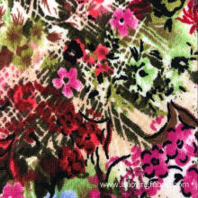 Point jacquard print fabric