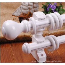 Reliable Quality White Color Wood Curtain Rod