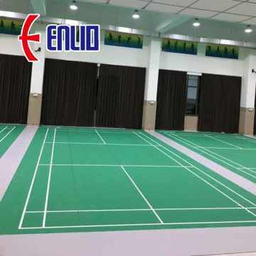 PVC sports flooring used by Thailand Badminton Association