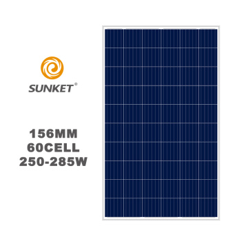 low price high efficiency 260w Ploy solar panel