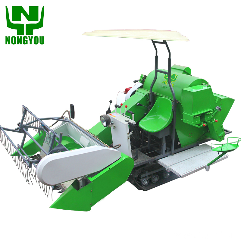 Wheat cutter mini combine harvester in sri lanka
