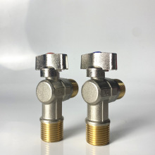 sanitary ware New design water angle valve 1/2 3/4 1 water connection brass angle valve