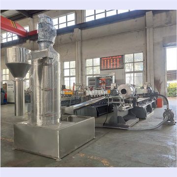 Masterbatch compounding pelletizing production line