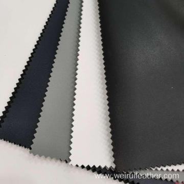 High-end Custom 1.5mm PU Leather With Velveteen-like Backing