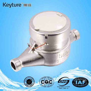 Dry Type Water Meter with Stainless Steel Body