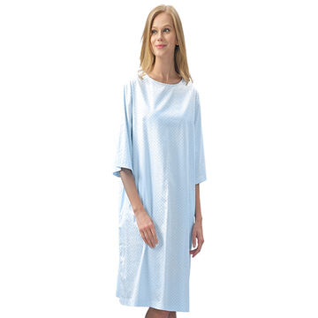 Ladies Patient Long Hospital Isolation Gown
