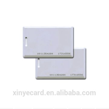 ABS Thick Blank Card Plastic Clamshell Card