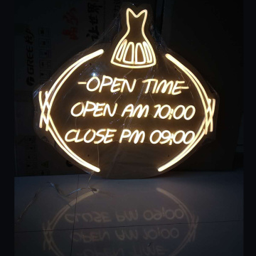 ABIERTO LED NEON SIGN