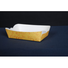 Customized boat tray disposable food box
