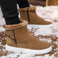 Men Winter Booties Outdoor Warm Fur Snow Boots