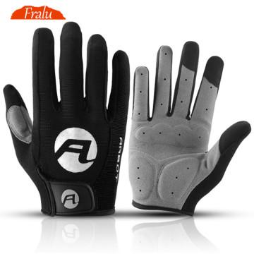 Cycling Gloves For Men Touch Screen Anti-slip Anti-shock Breathable Male Full Finger Gloves Sport Fitness Bike Motorcycle Gloves